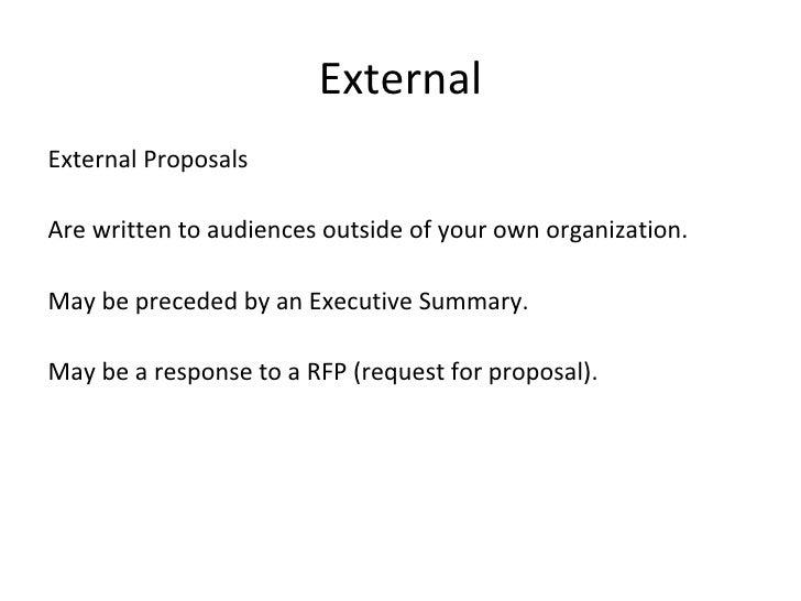 Proposal Writing Final