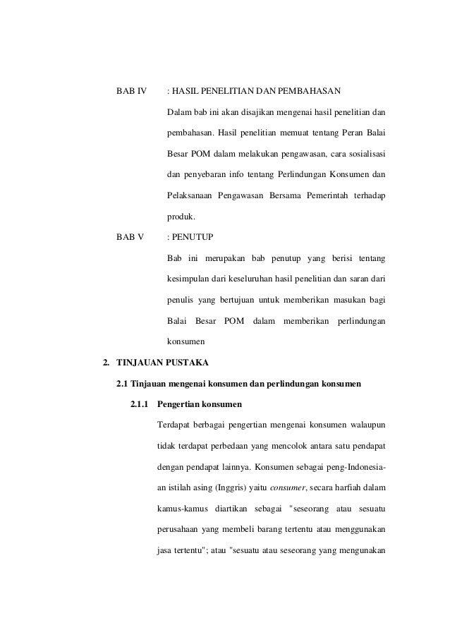 Proposal Skripsi Perlindungan Konsumen