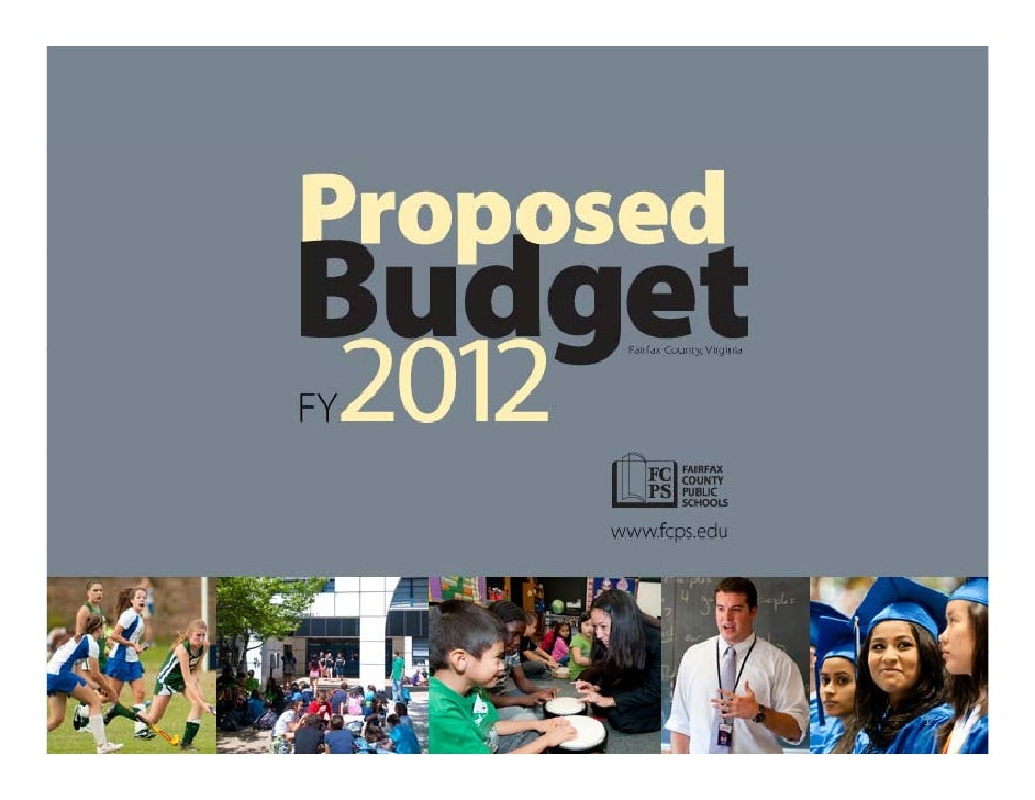 Fairfax County Public Schools FY2012 Proposed Budget