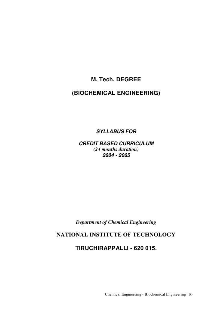 Biochemical Engineering