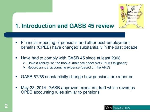 Proposed gasb 45 changes  Slide 3