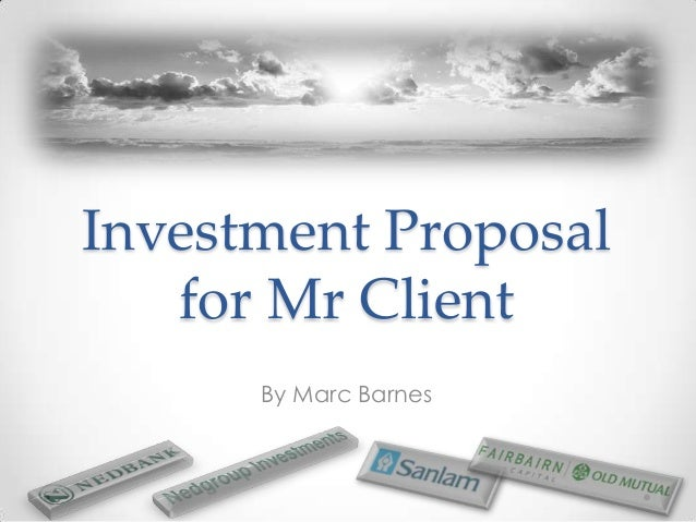 Sample Investment Proposal Template | Investment Proposal Template Yelom Myphonecompany Co