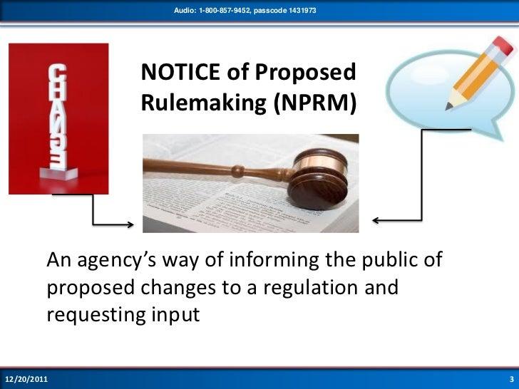 Proposed Sec503 Revisions Webinar