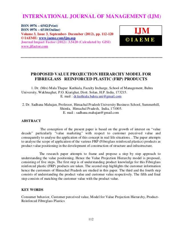International Journal of Management (IJM), ISSN 0976 – 6502(Print), ISSN 0976 – 6510(Online),INTERNATIONAL JOURNAL OF MANA...