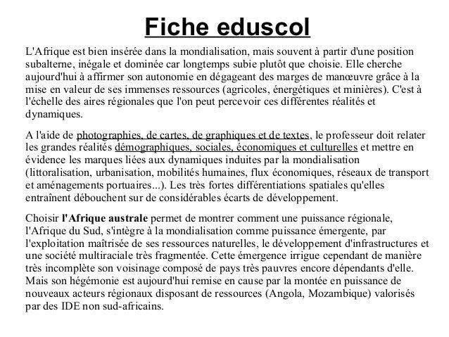 Fond De Carte Bresil Eduscol.Geo 4e Sequence Afrique Australe