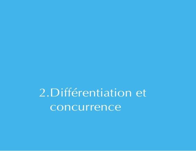2.Différentiation et  concurrence
