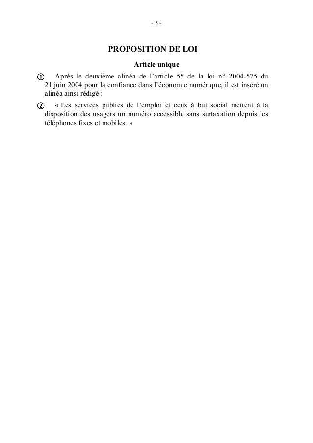 Proposition de loi tendant à interdire la surtaxation des appels téléphoniques vers les services publics à but social et v...