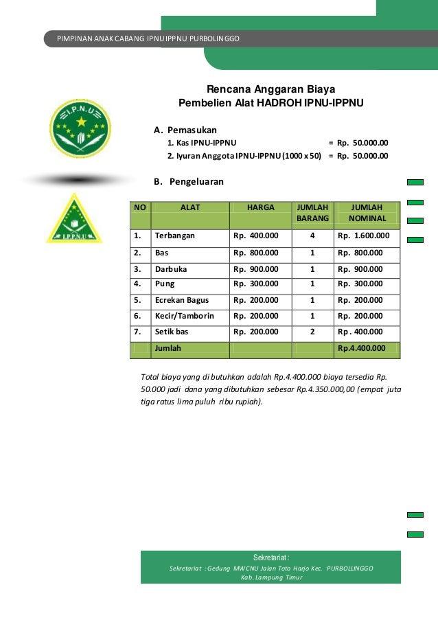 Proposal Pac Ipnu Ippnu Purbolinggo
