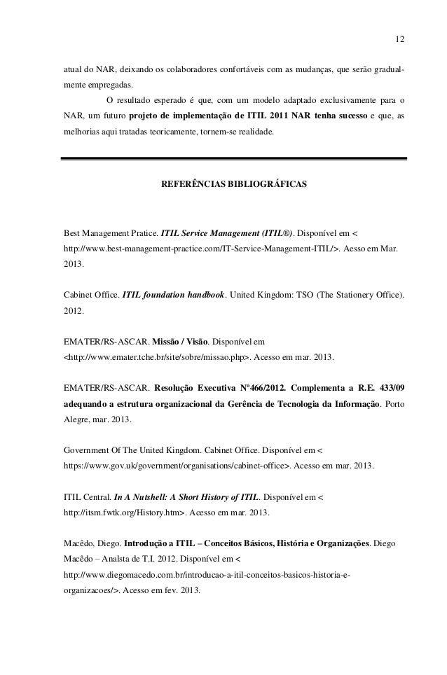itil foundation handbook 2012