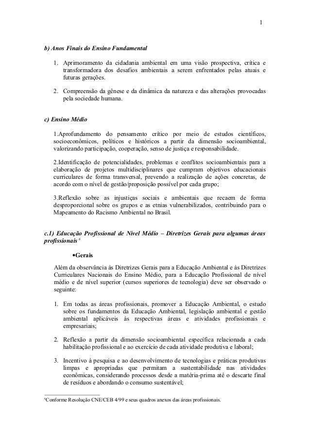 Preferência Proposta de diretrizes curriculares nacionais para a educacao ambient… NG33