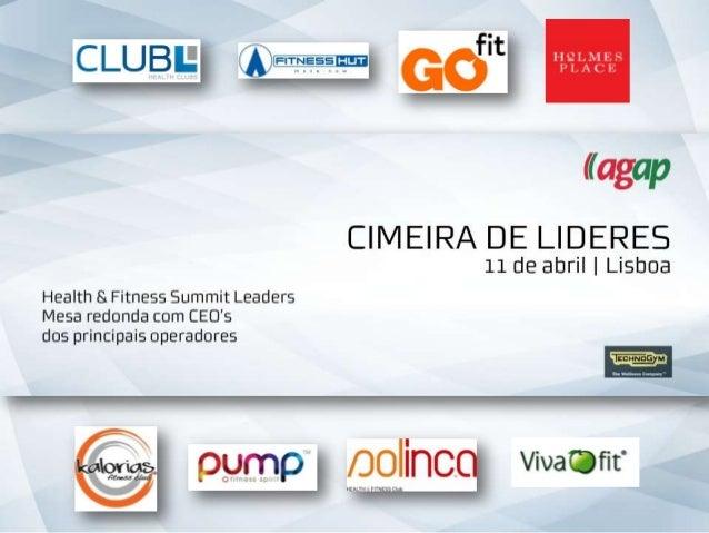 Introdução • AGAP é a única organização que representa os ginásios portugueses • Tem como missão defender os interesses da...