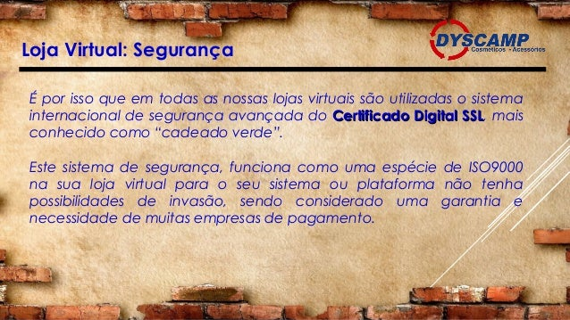 dc05b2a79 Loja Virtual  Segurança ...