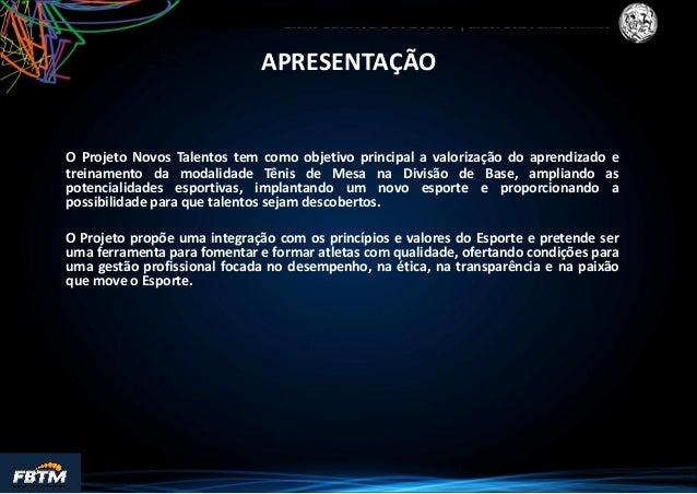 Proposta Gestão Esportiva Compartilhada - AABB-Salvador Slide 3
