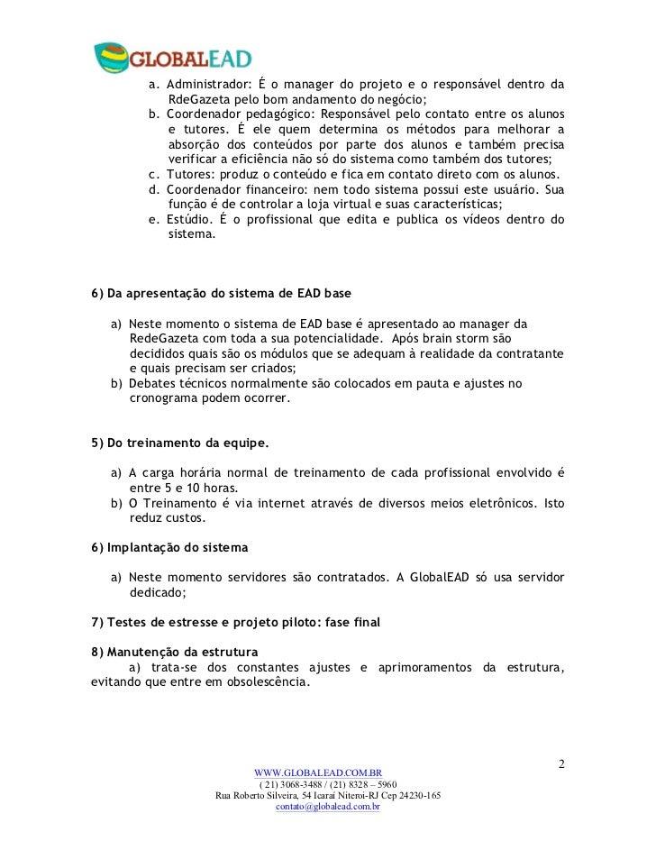 Proposta de orçamento para rede_gazeta Slide 2