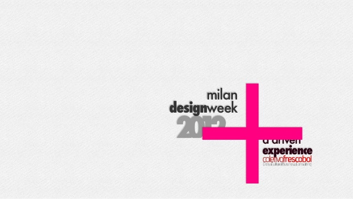 +20 2  1      milandesignweek              a driven              experience