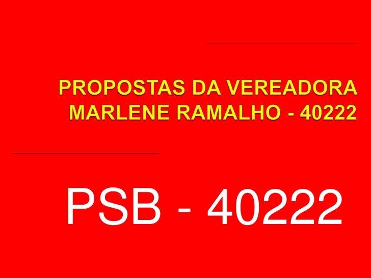 PSB - 40222