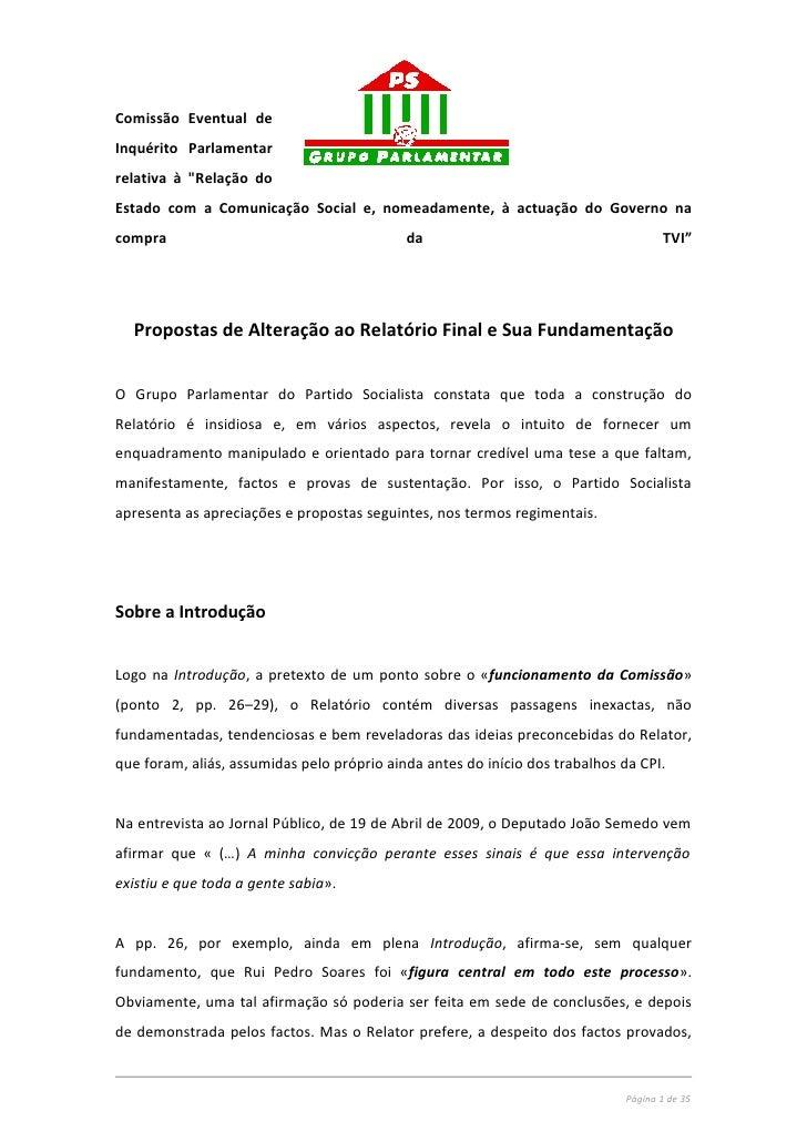 """Comissão Eventual de Inquérito Parlamentar relativa à """"Relação do Estado com a Comunicação Social e, nomeadamente, à actua..."""