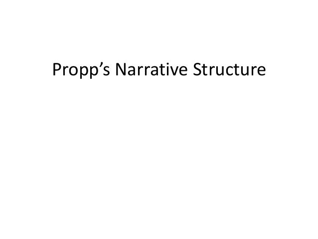 Propp's Narrative Structure