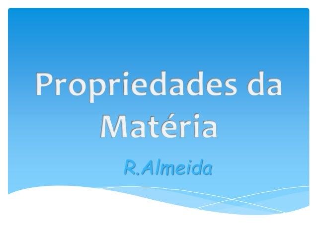 R.Almeida