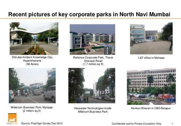 Prop Tiger Navi Mumbai Residential Analysis Jan 2014