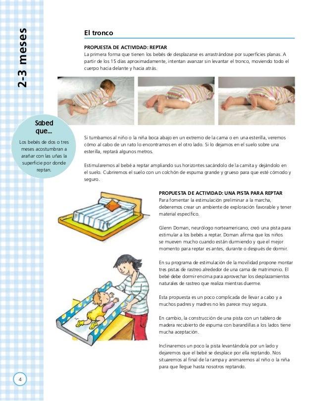 Actividades para beb s de 2 a 3 meses for Actividades para el jardin de infantes