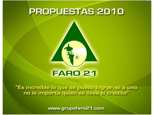Propuesta academica faro21