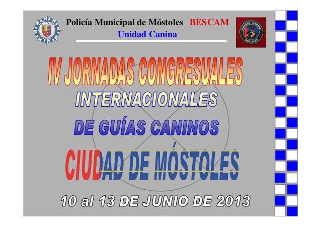 Policía Municipal de Móstoles BESCAMUnidad Canina
