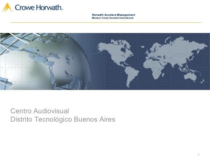 Centro Audiovisual  Distrito Tecnológico Buenos Aires
