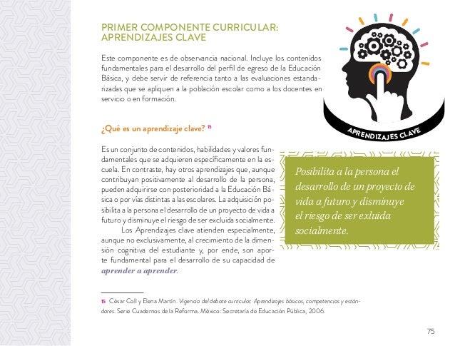 Propuesta Curricular Para La Educacioón Básica 2016