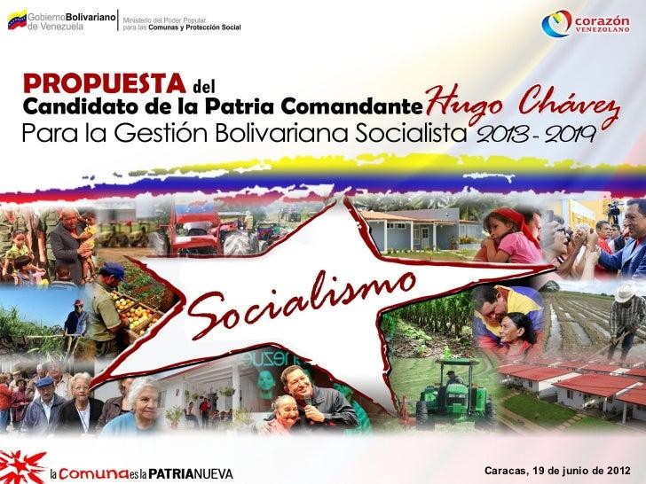 Caracas, 19 de junio de 2012