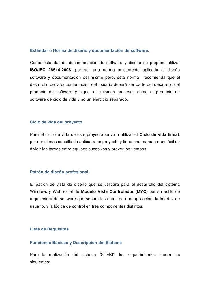 propuesta de proyecto stebi(soporte técnico y bitácora)