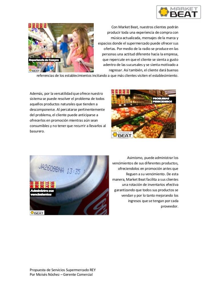 Propuesta de servicios market beat radio rey Slide 2