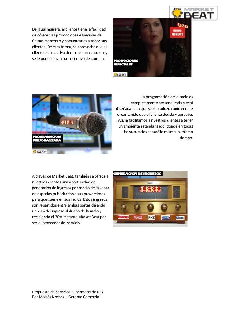 Propuesta de servicios market beat radio rey Slide 3