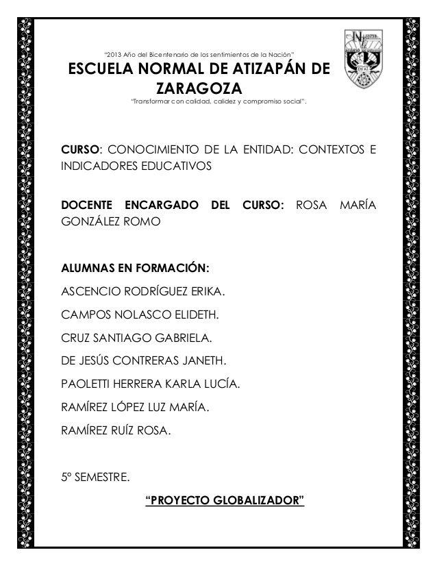 Propuesta de trabajo para tercer grado de primaria ENAZ