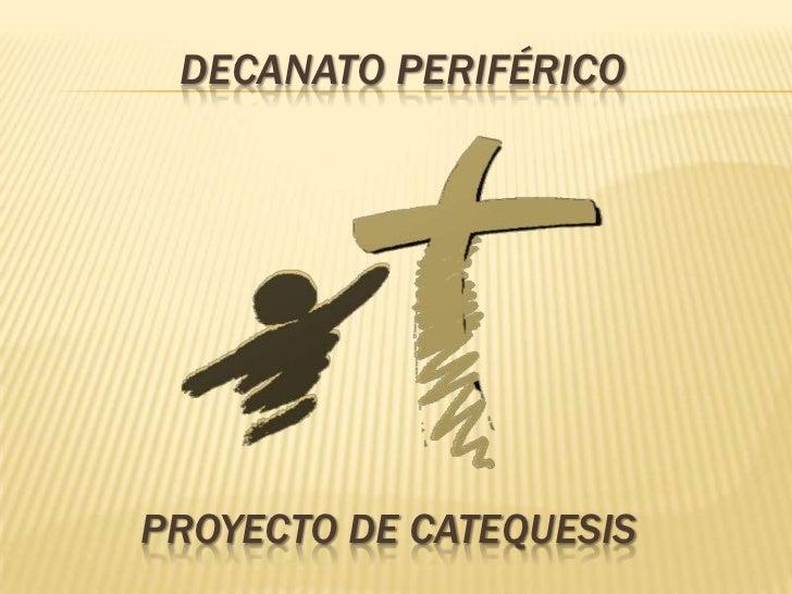 Propuesta de trabajo ministerio de catequesis decanato for Ministerio de trabajo