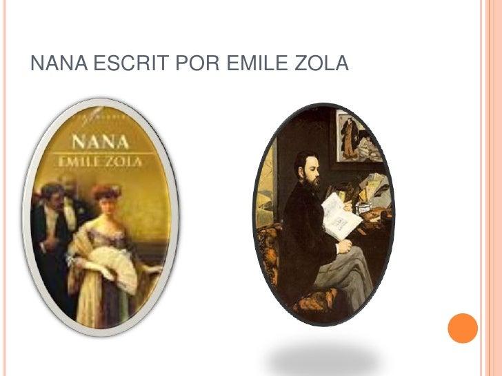 NANA ESCRIT POR EMILE ZOLA