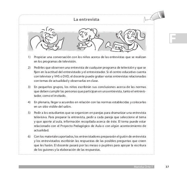 Propuesta Didáctica Para La Enseñanza De La Lectura Y La