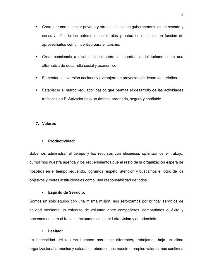 5      Coordinar con el sector privado y otras instituciones gubernamentales, el rescate y       conservación de los patr...