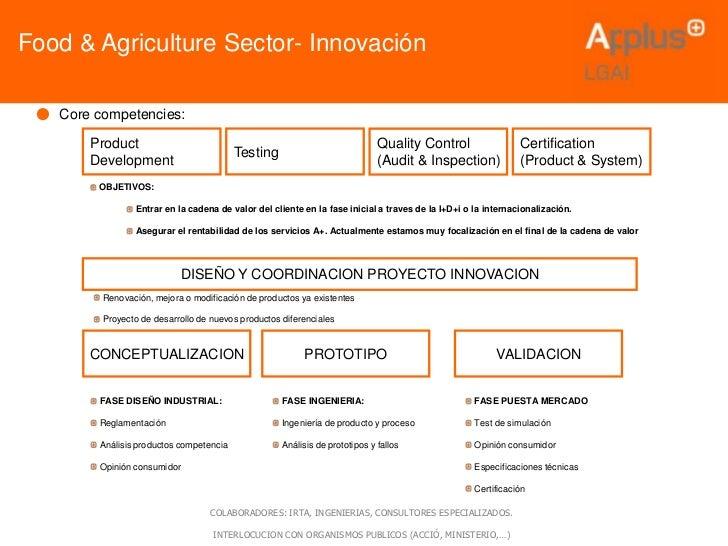 Food & Agriculture Sector- Innovación                                                                                     ...