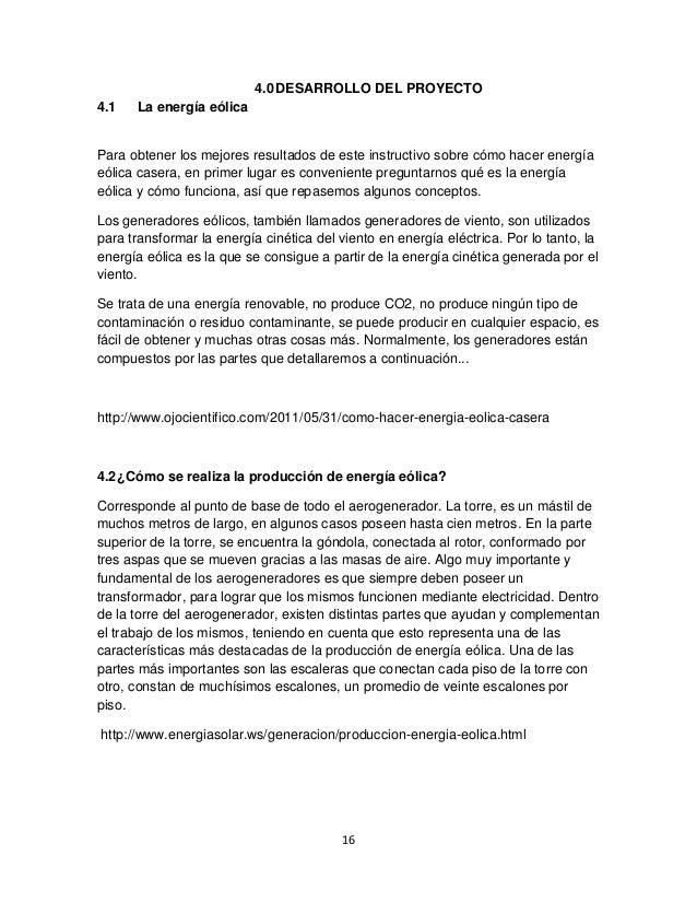 Propuesta para la transformacion de energia eolica a electrica 15 16 40 desarrollo del proyecto 41 la energa elica altavistaventures Image collections