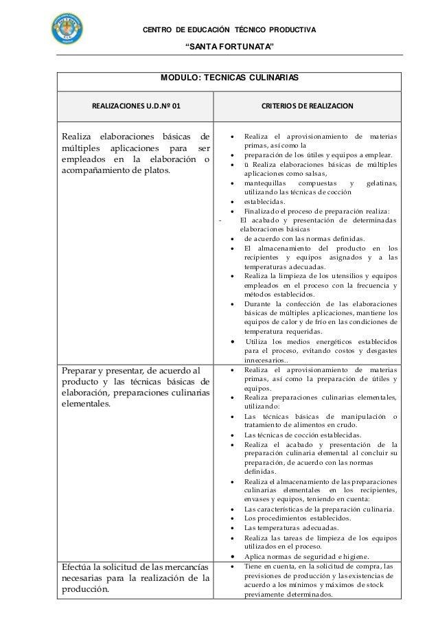 Propuesta pedagogica 2017 cocina y reposteria Slide 3