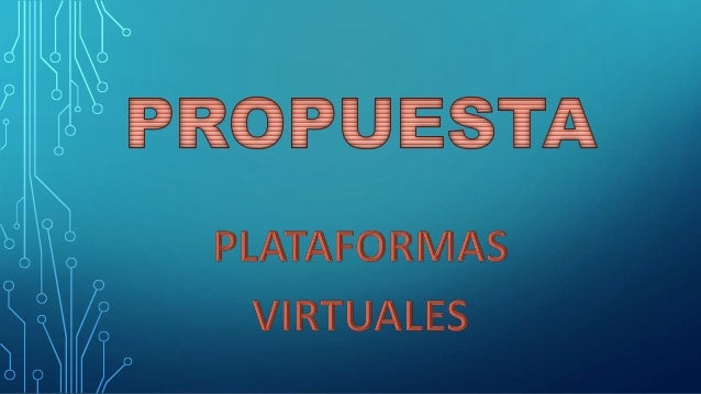 • Las plataformas virtuales se refieren a la tecnología utilizada para la creación y desarrollo de cursos o módulos didáct...