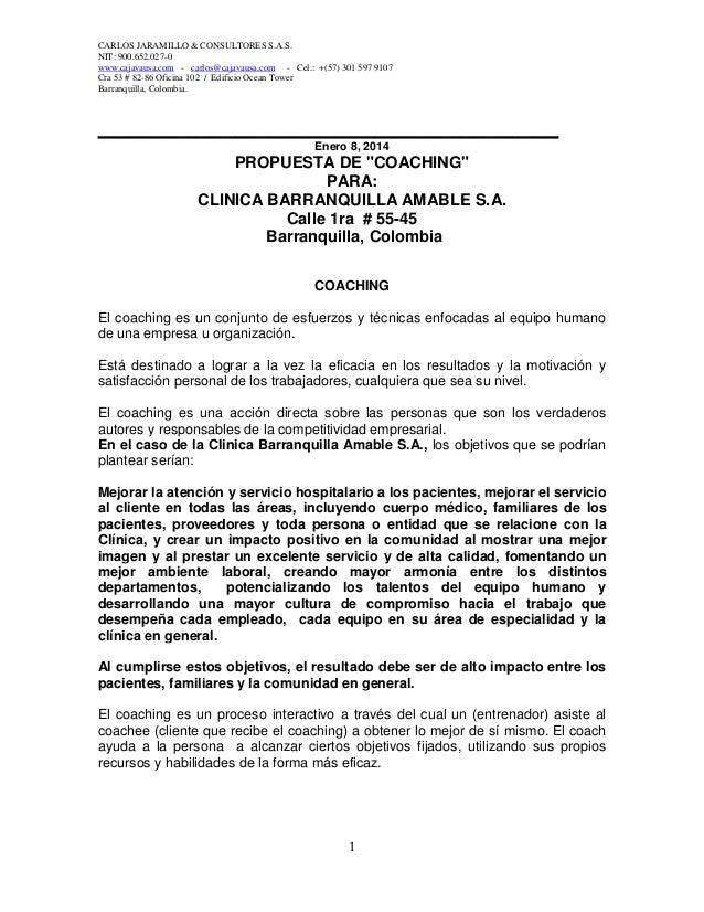 CARLOS JARAMILLO & CONSULTORES S.A.S. NIT: 900.652.027-0 www.cajavausa.com - carlos@cajavausa.com - Cel.: +(57) 301 597 91...