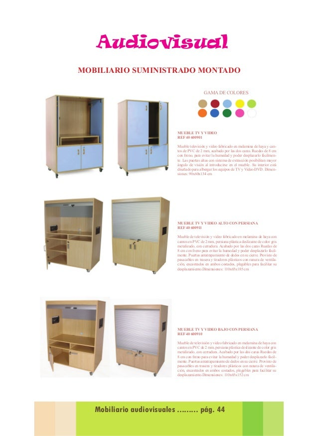 Propuestas equipamiento Mobiliario Guarderia 2015