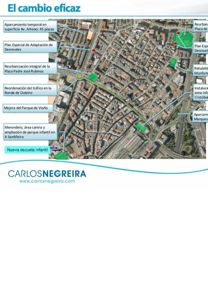 Aparcamientotemporalen           ReurbanizaciónintegraldelasuperficieAv.Arteixo:45plazas   PlazadeSanPedrod...
