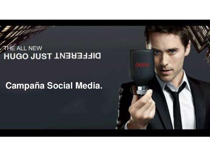 Campaña Social Media.