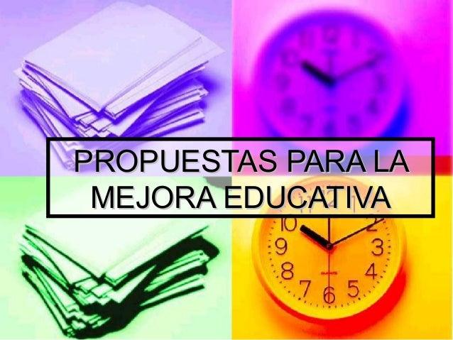 MEJORA EDUCATIVA EBOOK