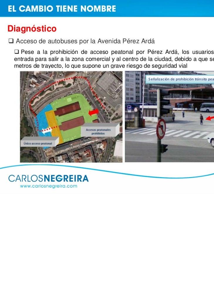 Propuestas de mejora  Accesos a la Estación de autobuses    Nuevo acceso peatonal a la Estación de Autobuses desde la Aven...