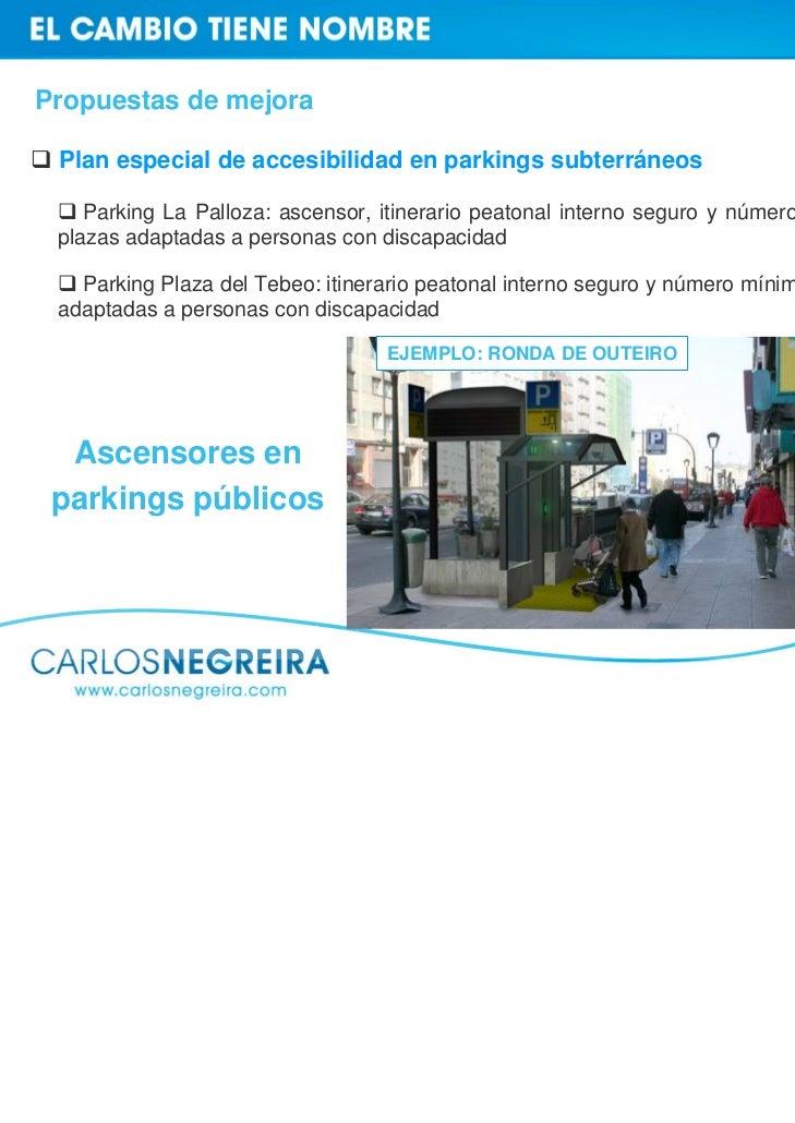 Propuestas de mejora     Mejora de las instalaciones del    Centro Cívico actual, que se ha    quedado pequeño para la zon...