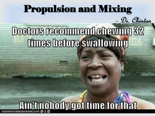 Propulsion and Mixing - Dr. Chintan